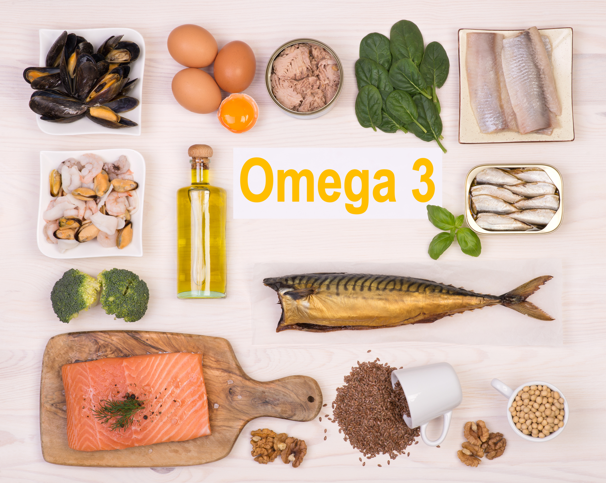 FOOD AS  MEDICINE: Omega 3 fatty acids